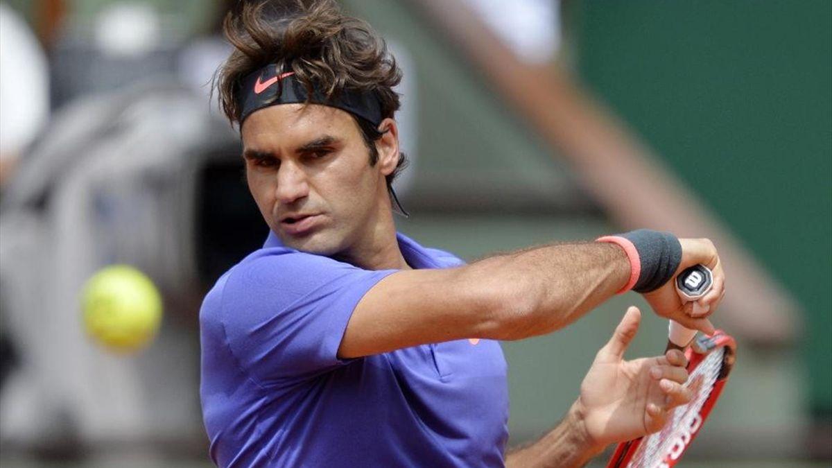 Roger Federer zieht ins Achtelfinale der French Open ein