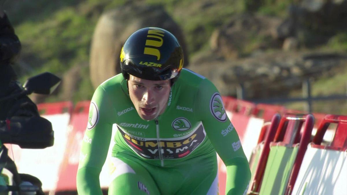 Roglic a câştigat contratimpul din etapa a 13-a, din Vuelta