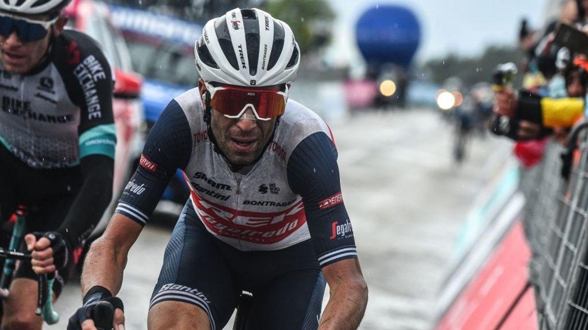 Vincenzo Nibali al Giro d'Italia 2021