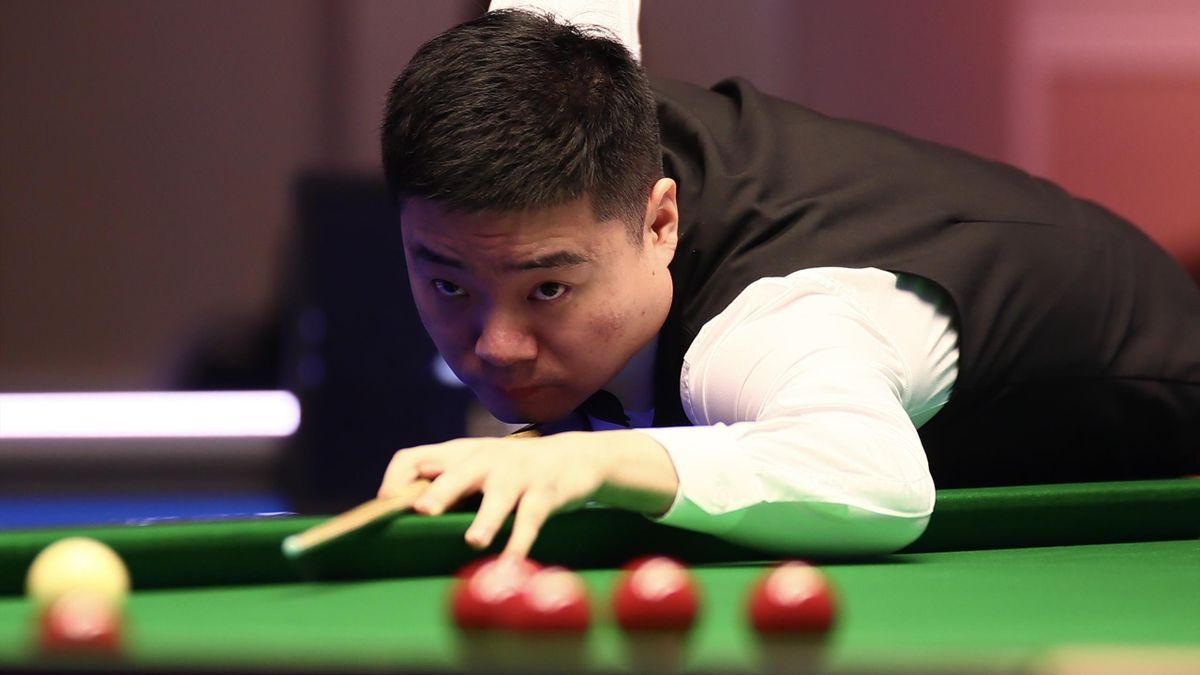 Ding Junhui steht beim German Masters im Viertelfinale