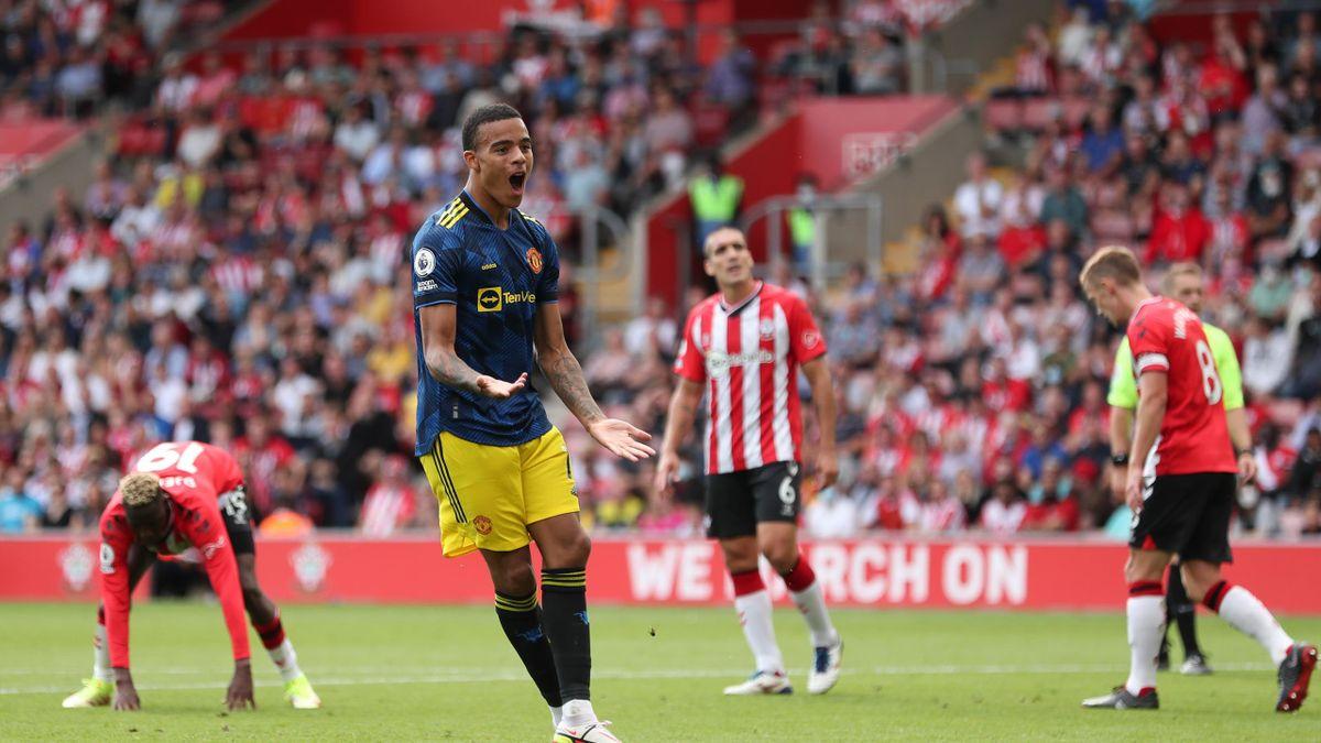 Premier League result - Manchester United held at Southampton despite Mason  Greenwood goal - Eurosport