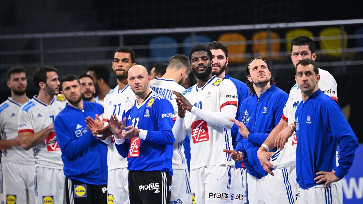 L'équipe de France, qui s'est qualifiée avec la manière face au Portugal, veut garder la tête froide pour aller jusqu'au bout