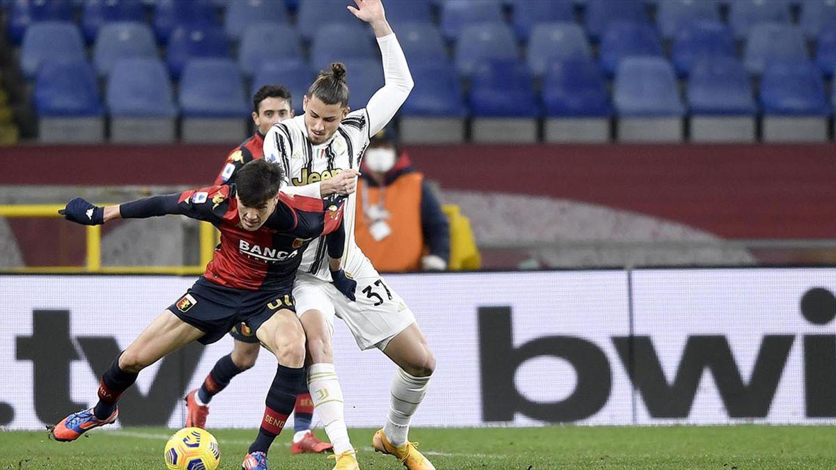 Radu Drăgușin a debutat în Serie A
