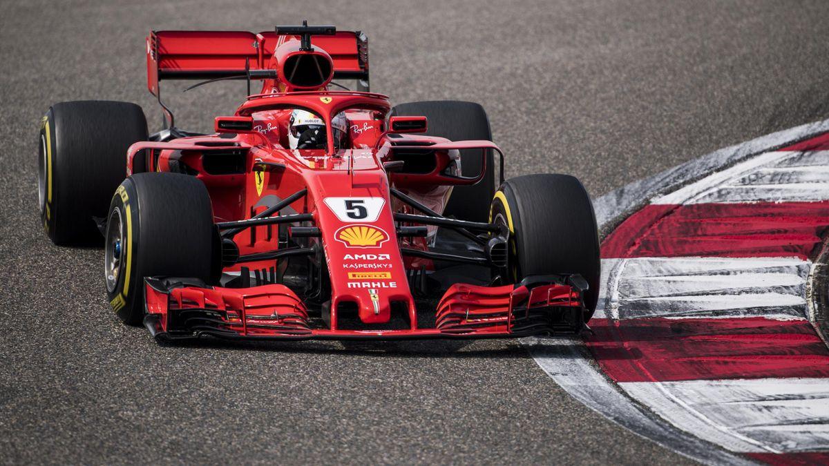 Vettel landete im freien Training nur auf Rang elf