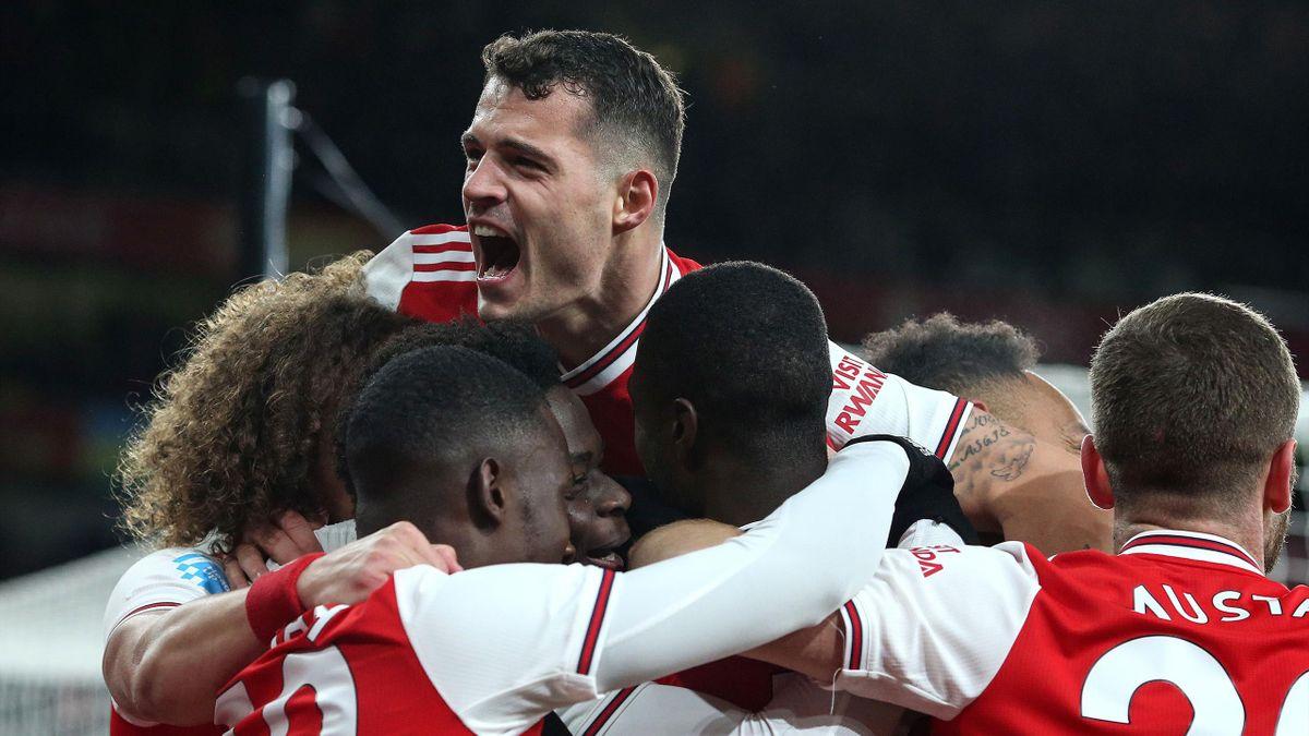 Xhaka - Arsenal-Newcastle - Premier League 2019/2020 - Getty Images