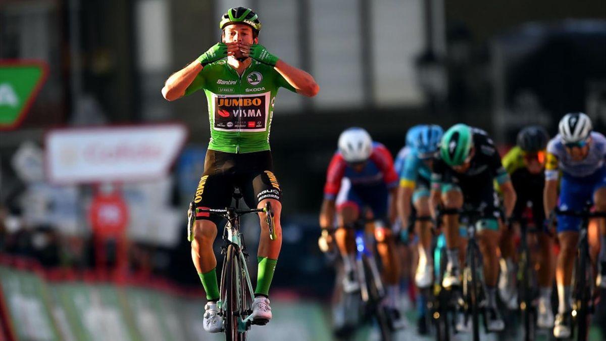 Primoz Roglic - Vuelta 2020, stage 10 - Getty Images