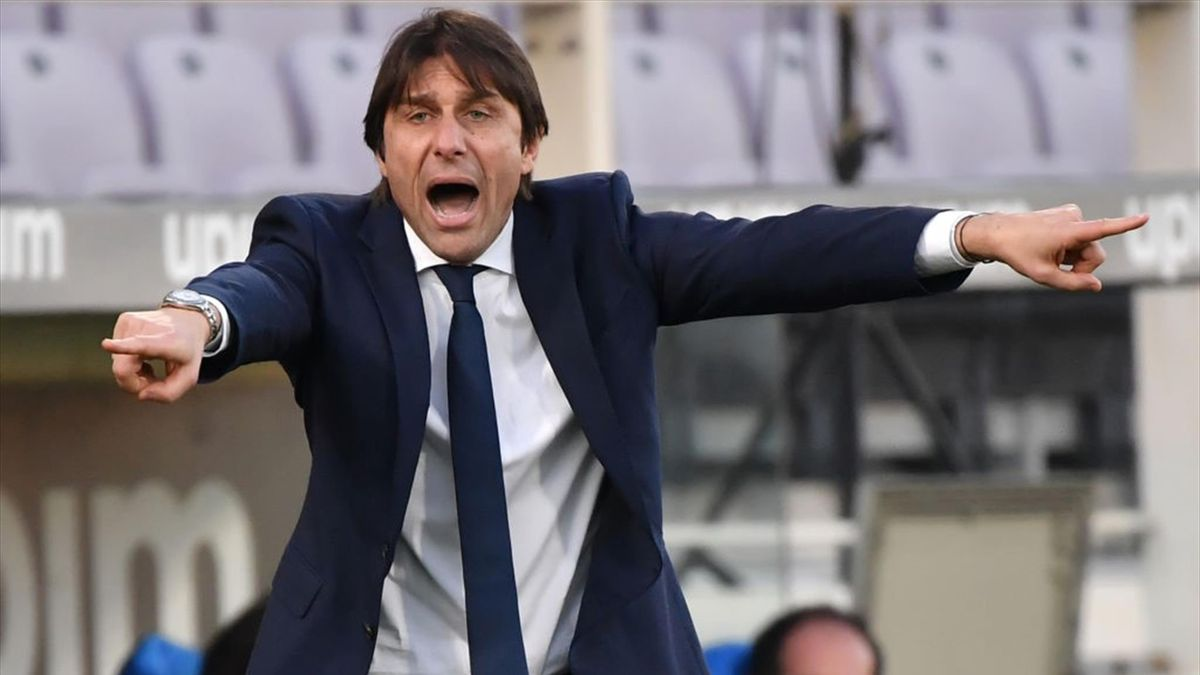 Antonio Conte - Fiorentina-Inter - Coppa Italia 2020/2021 - Getty Images