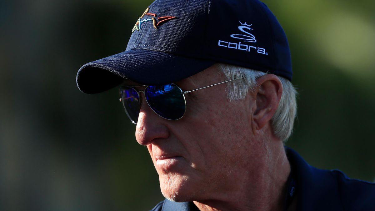 Le golfeur australien Greg Norman