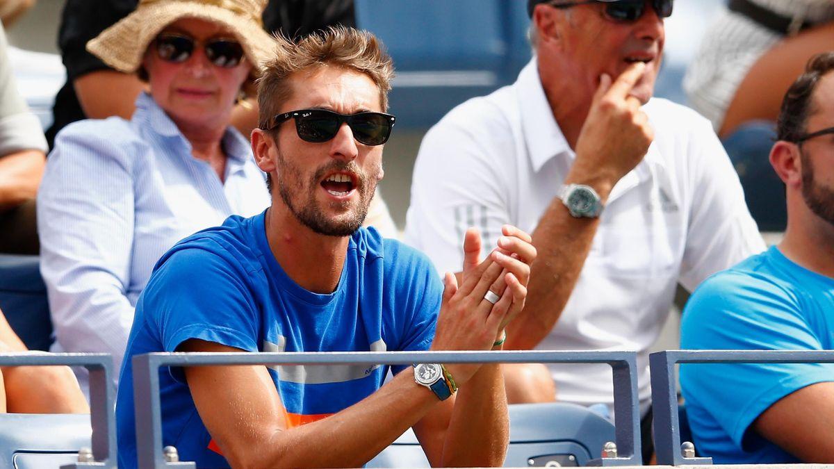 Nicolas Escudé à l'US Open en 2014
