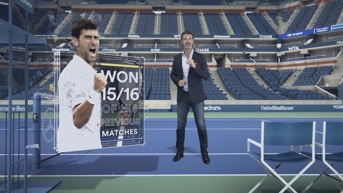 US Open The Coach Epiode 2 : Djokovic .COM - NO UK
