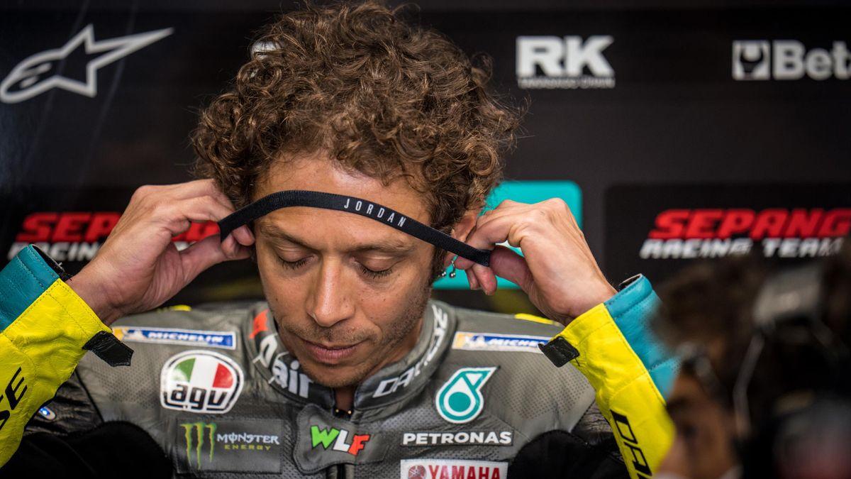 Valentino Rossi, GP Catalogna 2021 (Getty Images)
