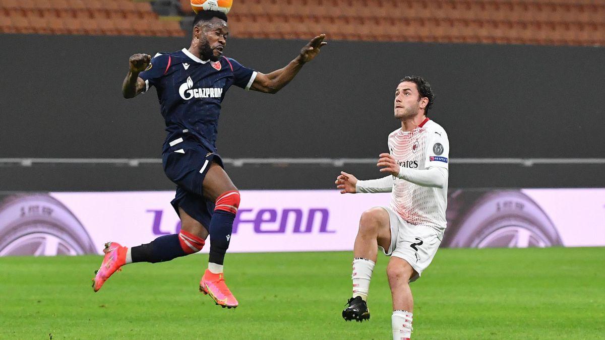 Guelor Kanga, în disputa Milan - Steaua Roșie Belgrad, din Europa League