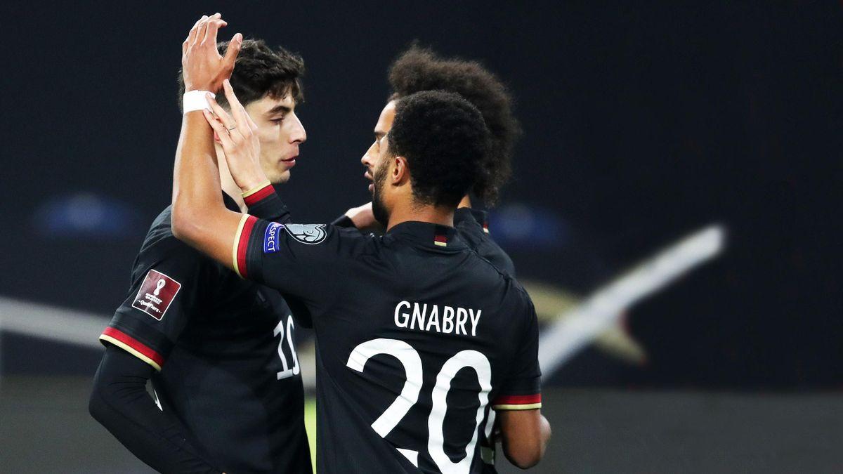 DFB-Offensive mit Havertz, Gnabry und Sané bei der WM-Qualifikation gegen Island