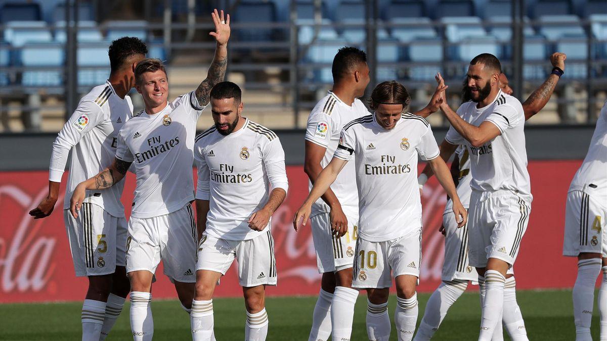 Real Madrid schlägt Eibar