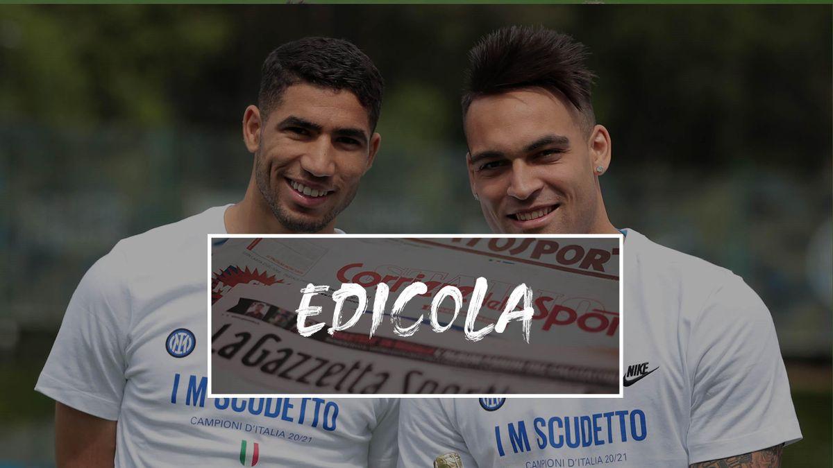 Achraf Hakimi e Lautaro Martinez giocheranno nell'Inter anche nel 2021-22?