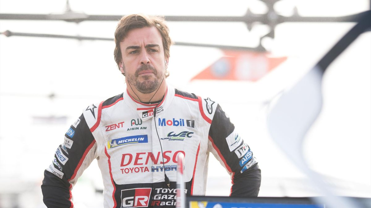 Fernando Alonso of Spain and Toyota Gazoo Racing on March 13, 2019