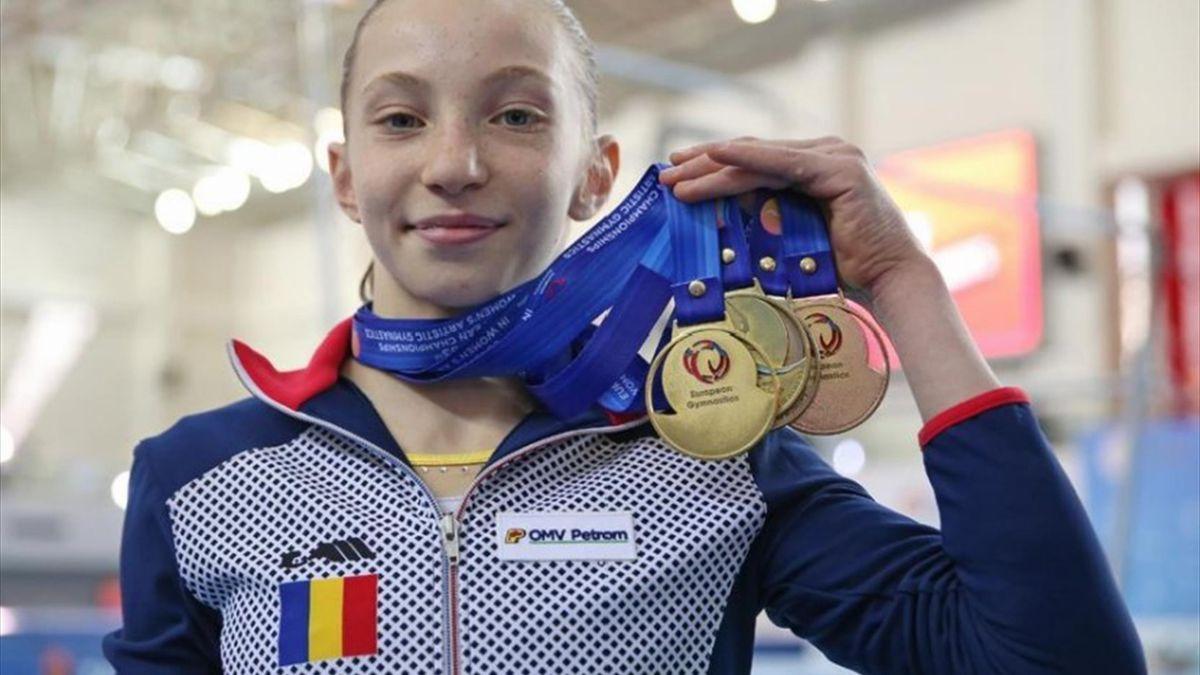 Ana Maria Bărbosu. Sursa foto: European Gymnastics