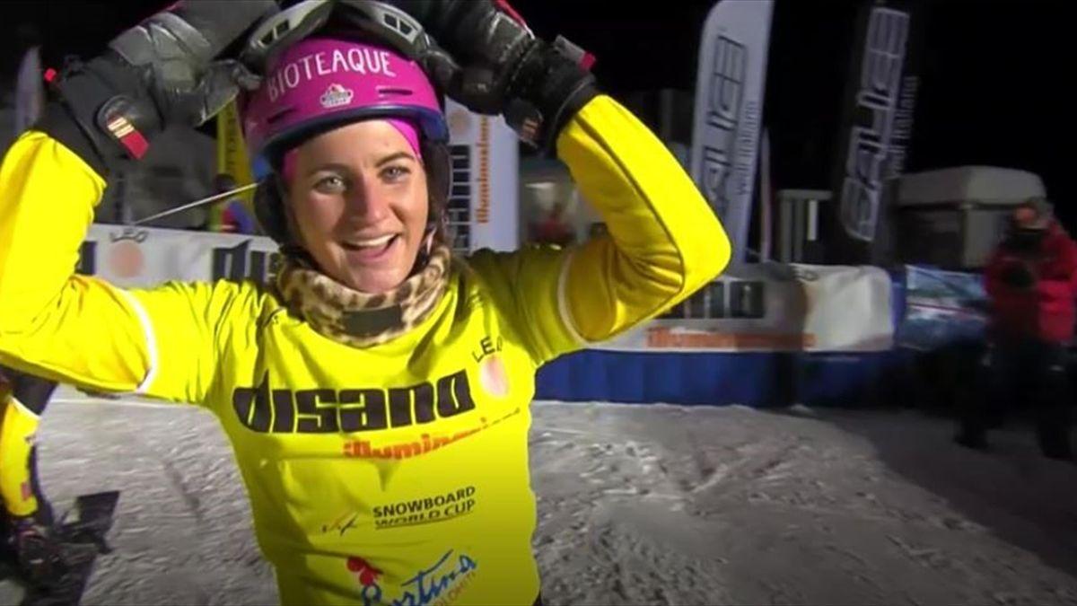 Ramona Hofmeister gewinnt in Cortina