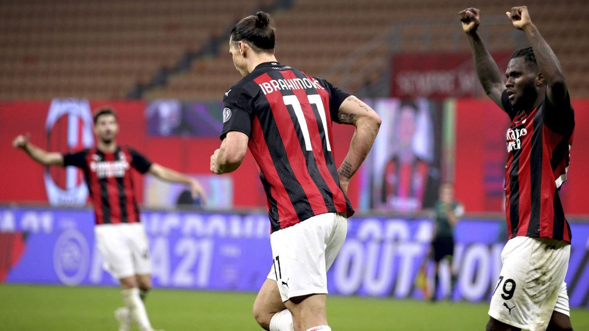 Milan-Verona 2-2: Ibra al 93', rimonta rossonera da 0-2 - Eurosport