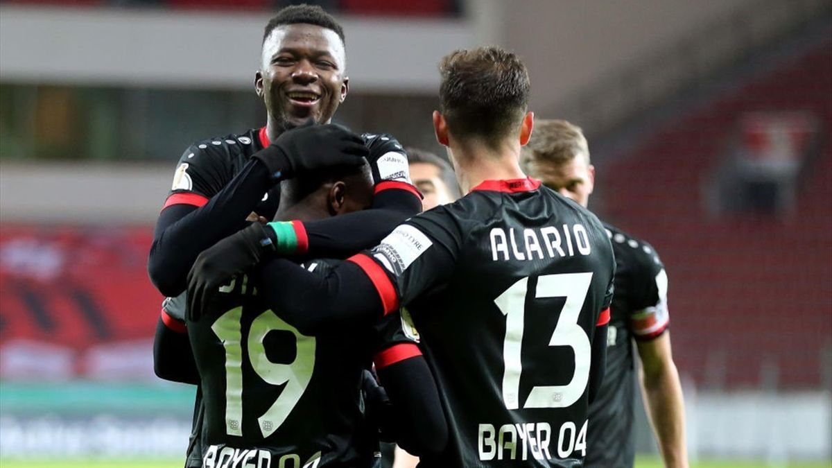 B<yer Leverkusen steht in der dritten Runde des DFB-Pokals