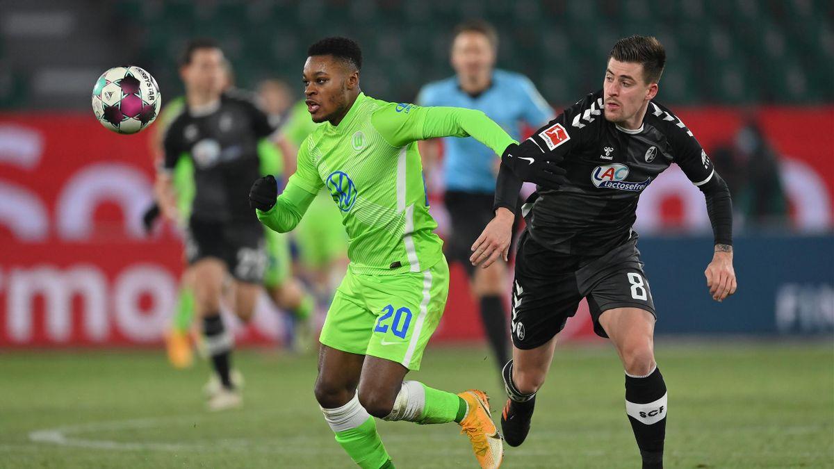 VfL Wolfsburg gegen den SC Freiburg