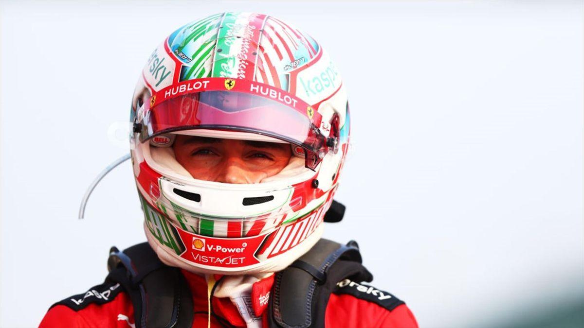 Charles Leclerc (Ferrari) au Grand Prix d'Emilie-Romagne 2020