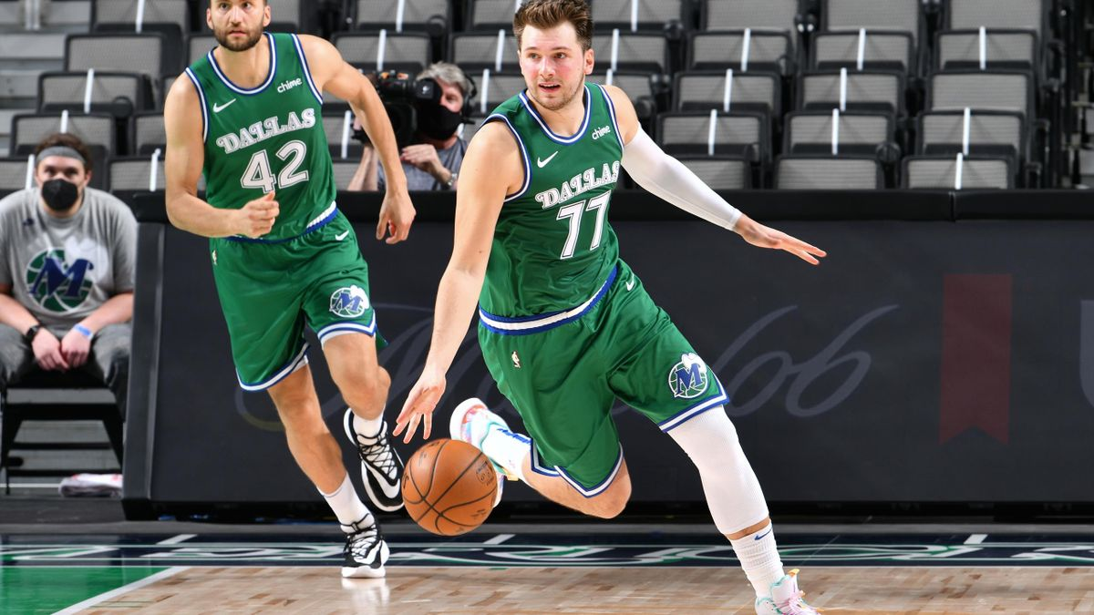 Doncic brilla en el triunfo de Dallas ante Orlando Magic