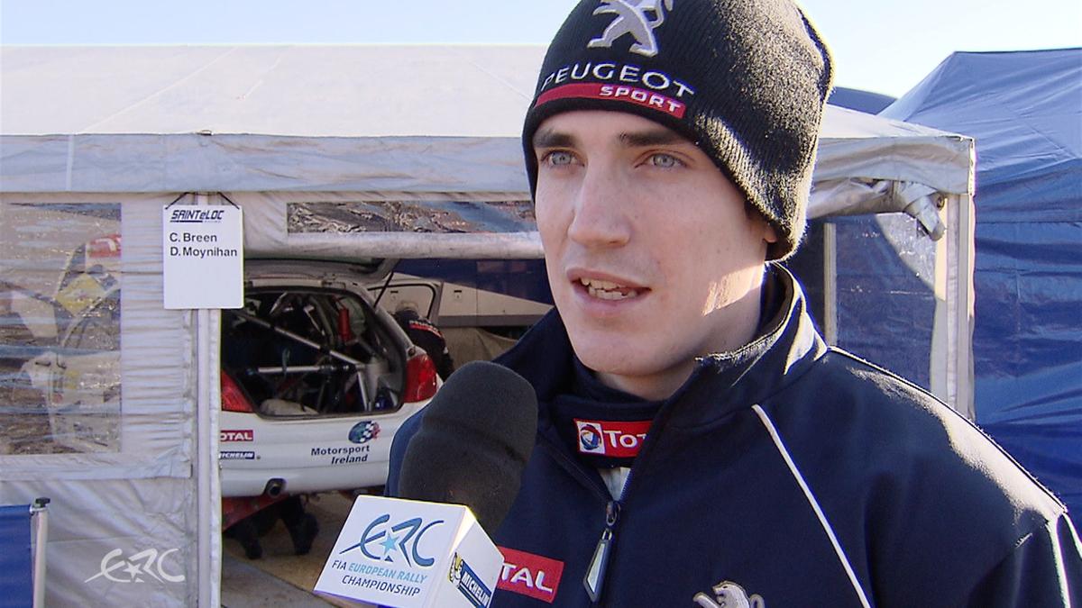 ERC LATVIA Craig Breen interview