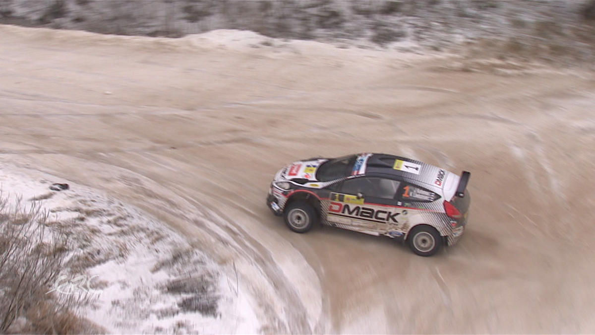 ERC LATVIA Amazing Ketomaa helicopter action in SS6