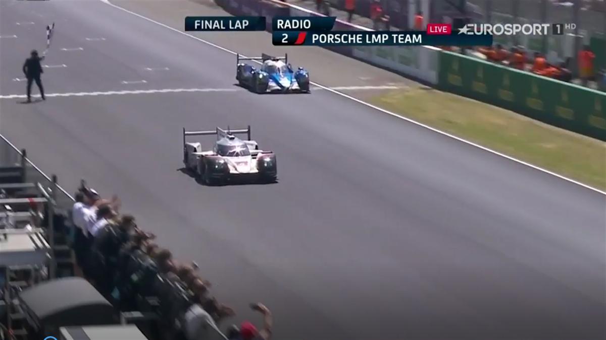 Porsche se hace con la victoria en Le Mans 2017