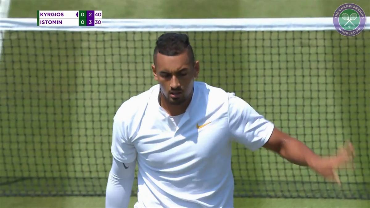 Wimbledon : Highlights Kyrgios VS Istomin