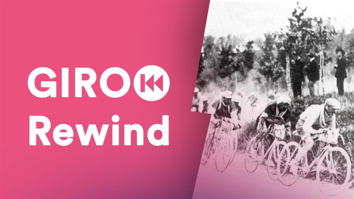 I corridori impegnati nella prima edizione del Giro d'Italia