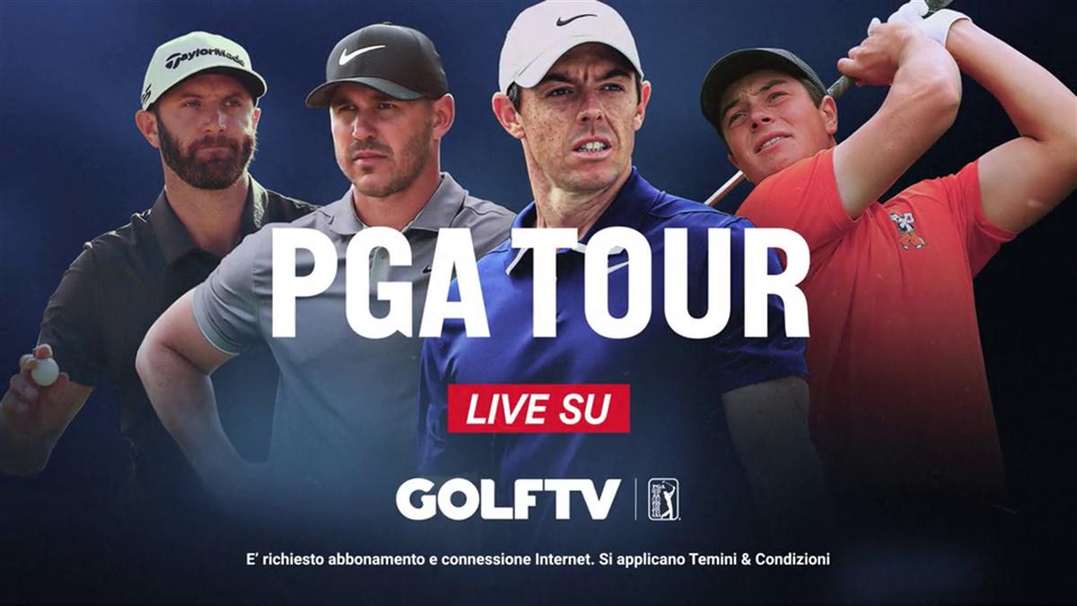 PGA TOUR LIVE SU GOLF TV