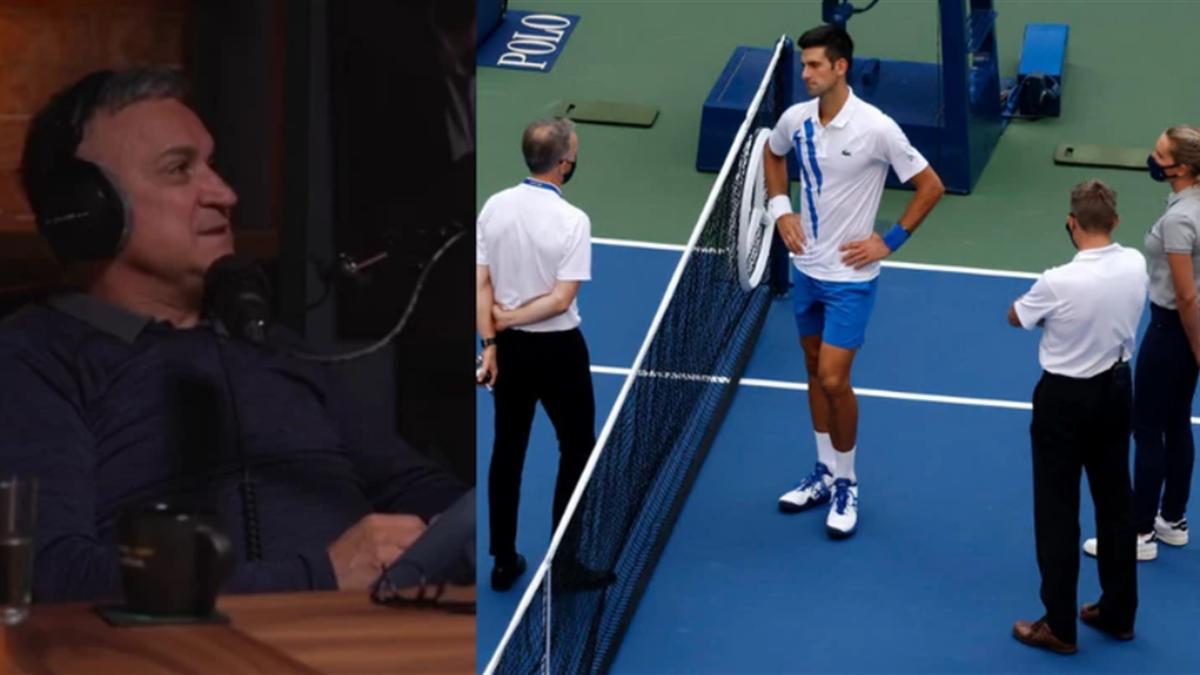 Srdjan Djokovic nu a avut puterea să mai spună ceva, după ce Nole a fost descalificat