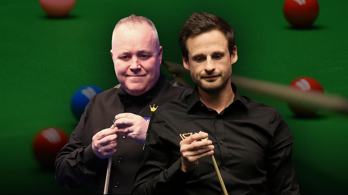 Masters: John Higgins v David Gilbert