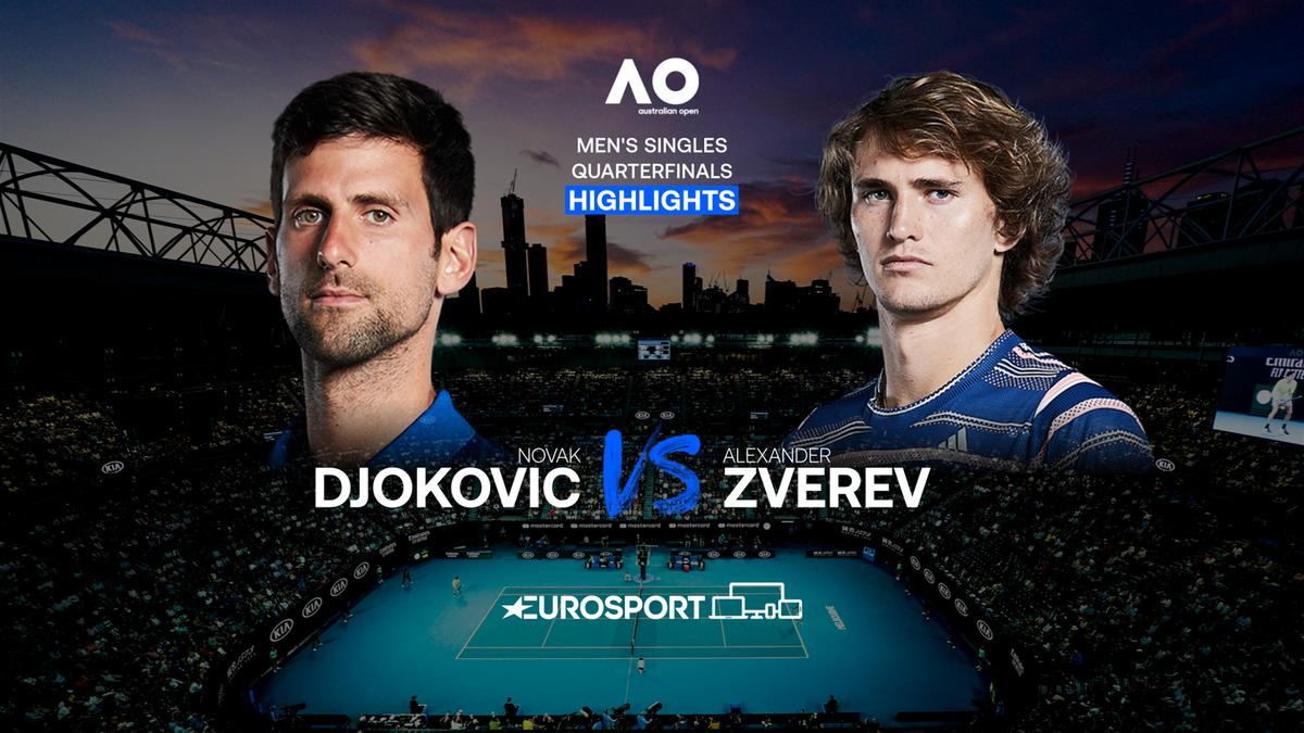 Highlights | Novak Djokovic - Alexander Zverev