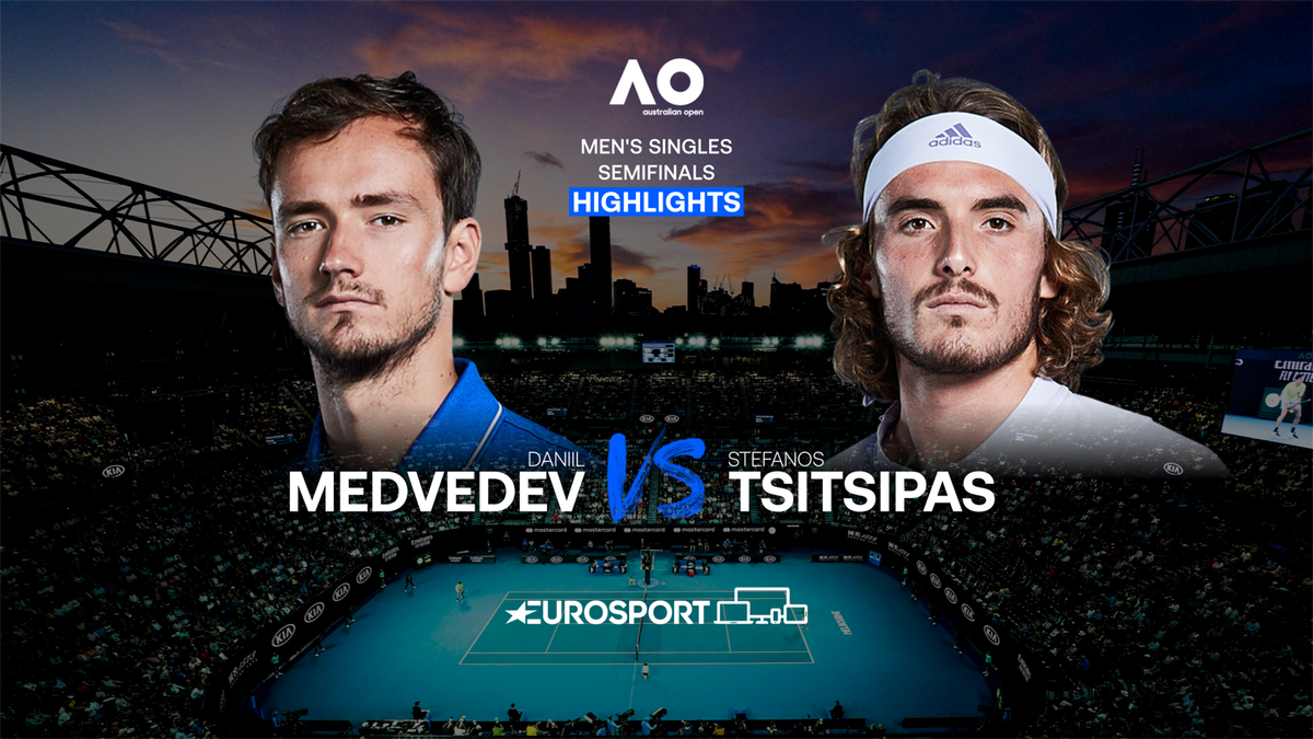 Highlights | Daniil Medvedev - Stefanos Tsitsipas