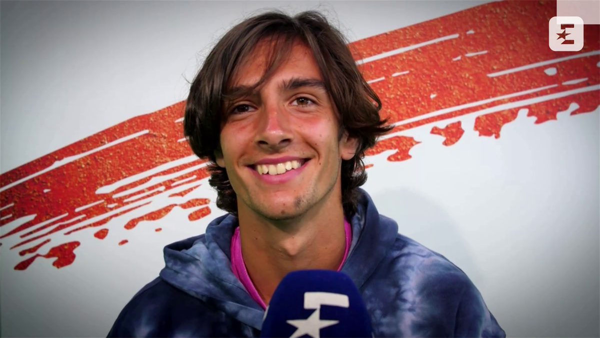 'Federer is my idol, unbelievable' - Get to know Musetti