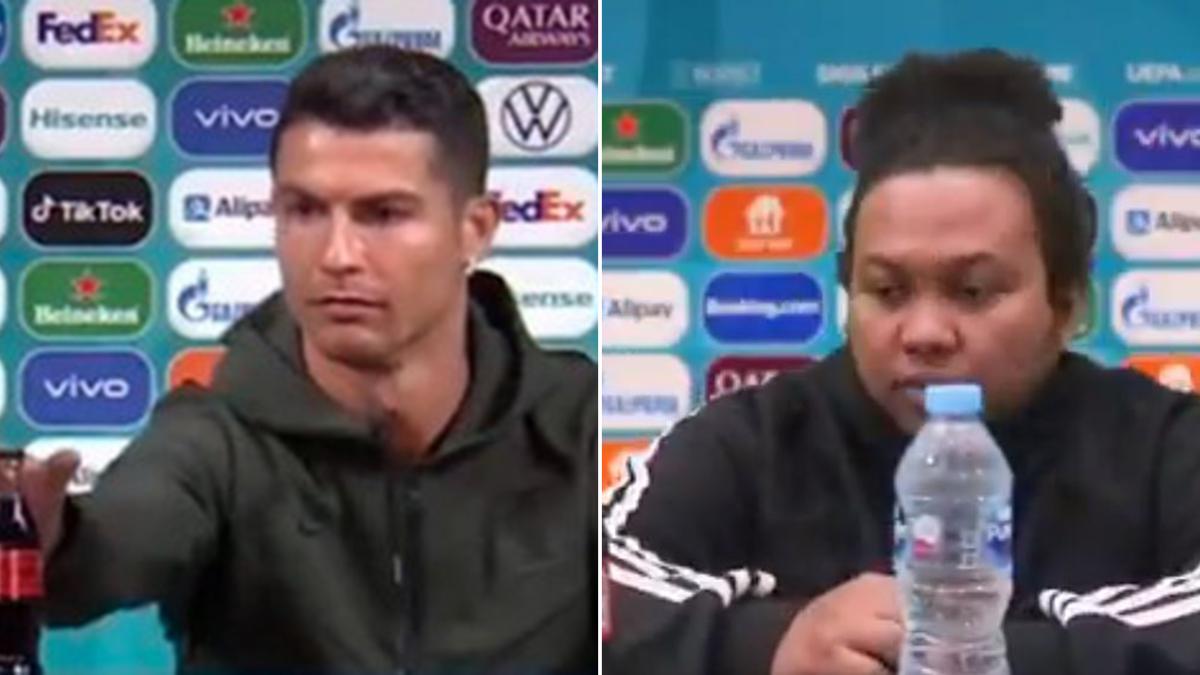 Ronaldo-Coca Cola: i meme migliori