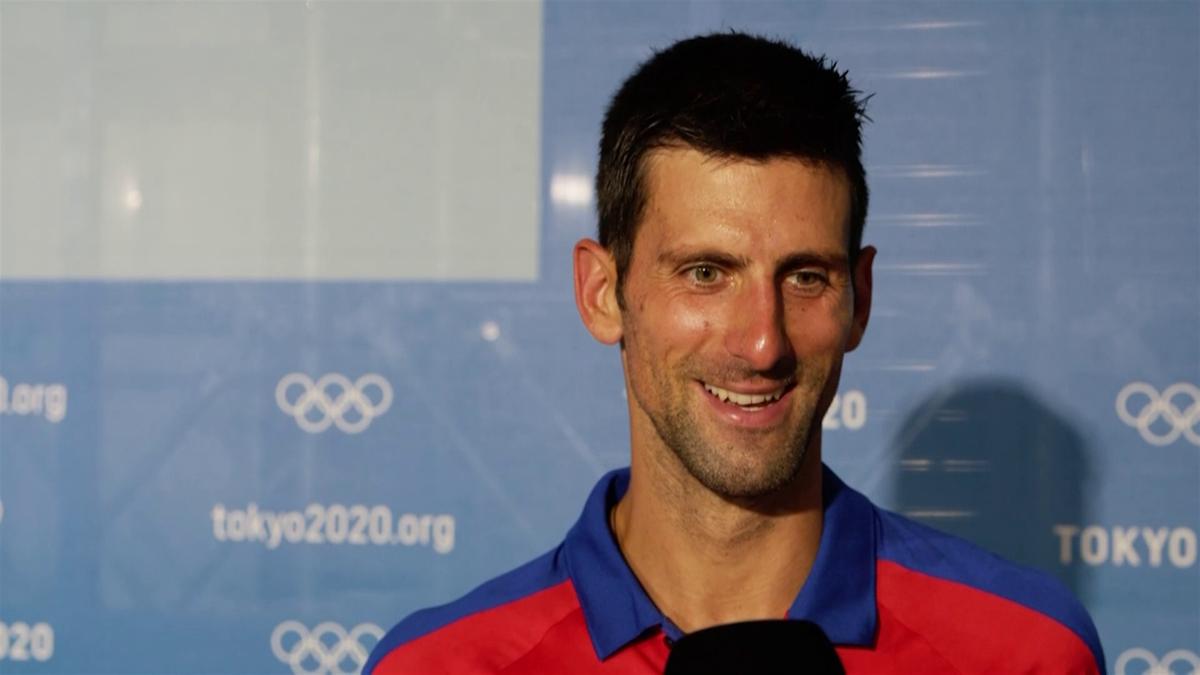 Novak Djokovic - Interview - Tokyo 2020