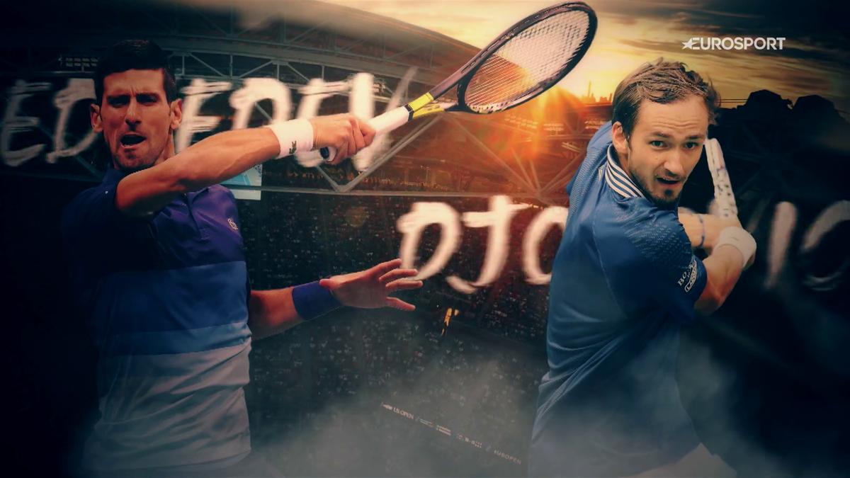 Djokovic-Medvedev, appuntamento con la storia alle 22