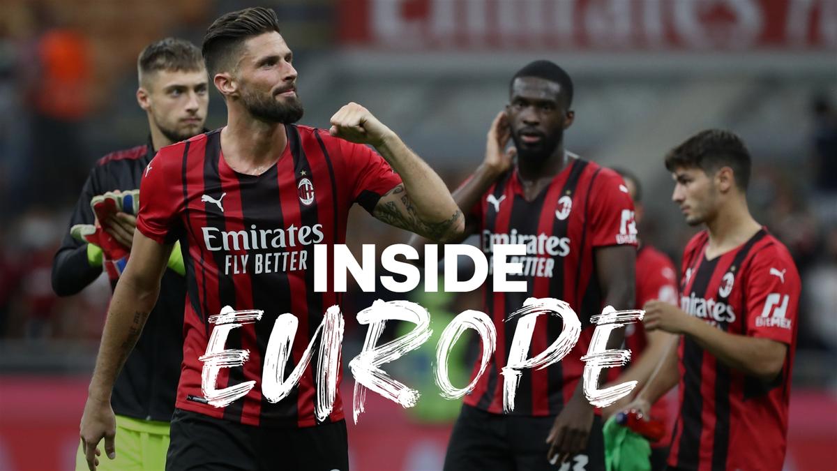 Giroud is a key part of this new-look Milan team