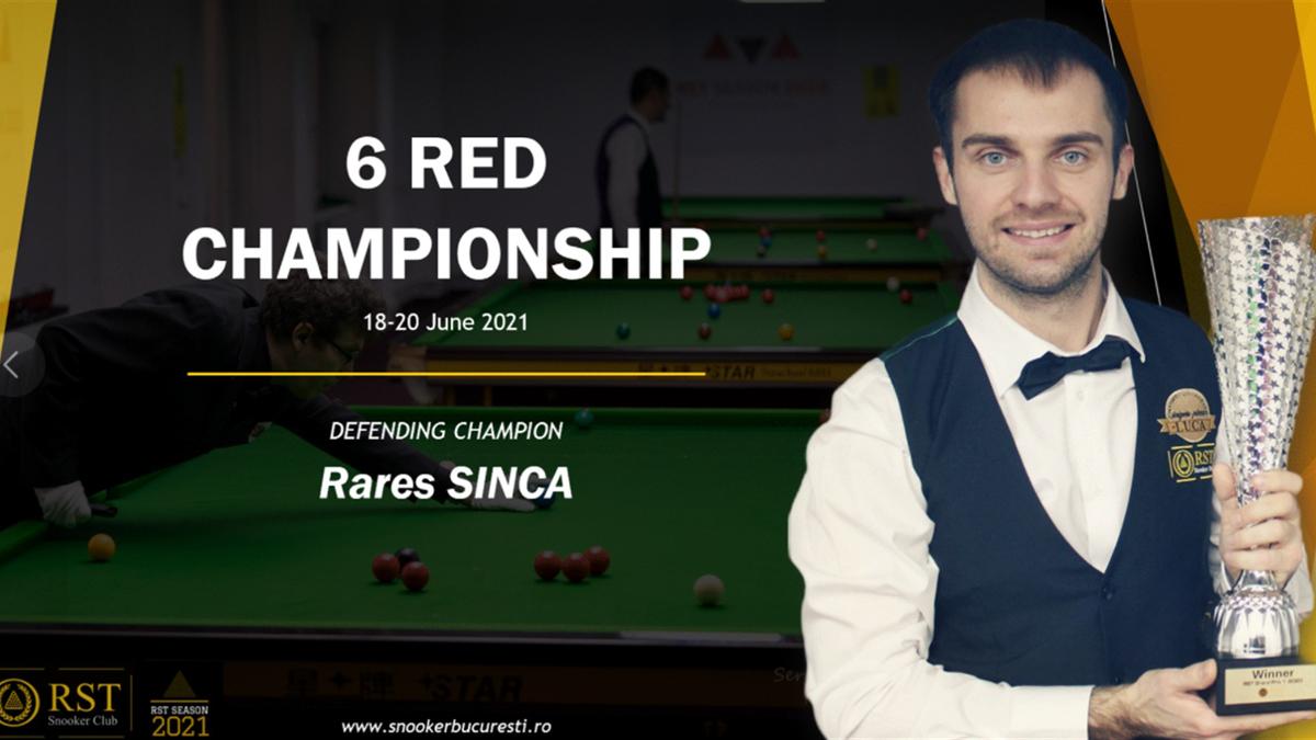 6 Red Championship, București, 18-20 iunie 2021