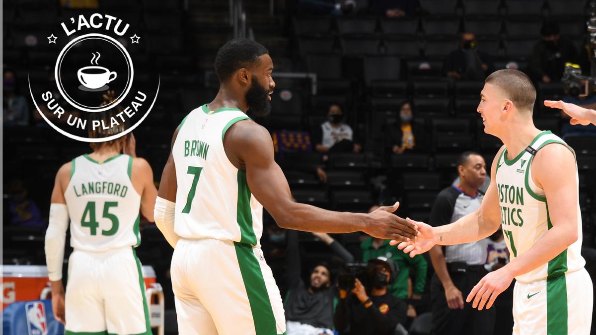 Brown (Celtics) a brillé face aux Lakers