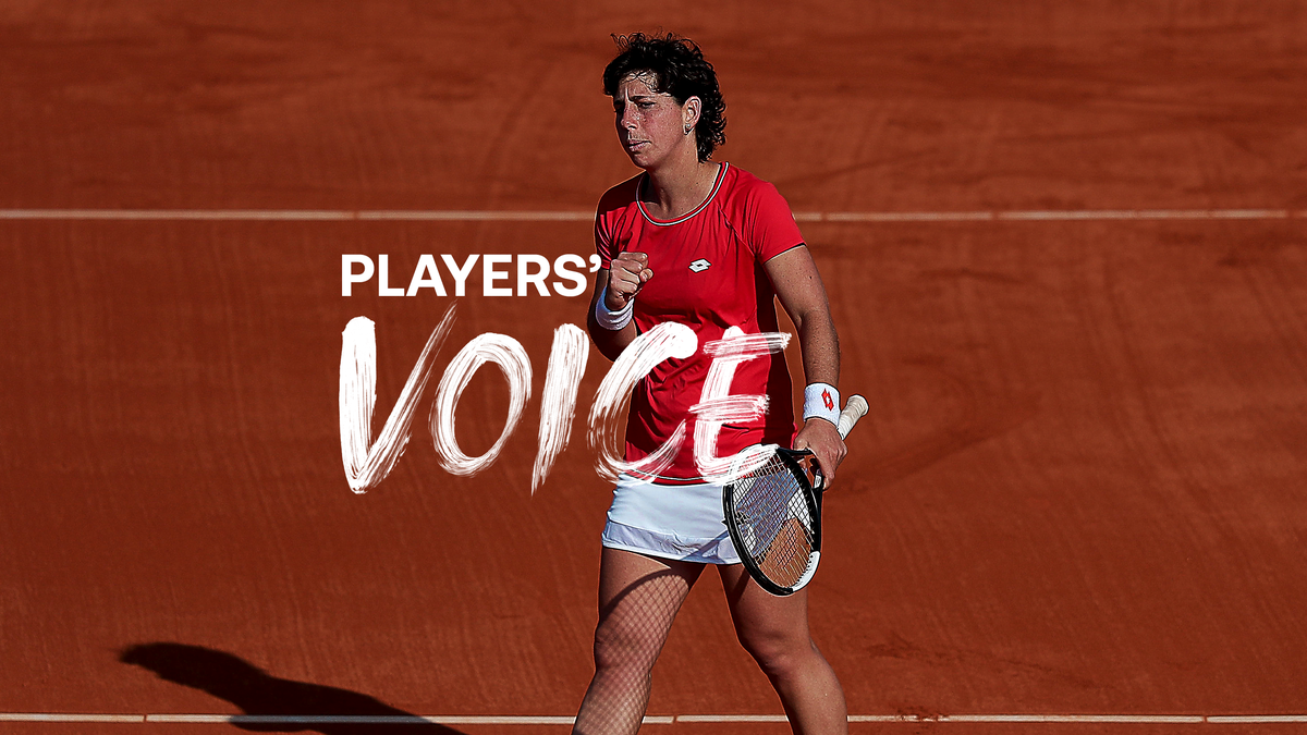 Players' Voice - Carla Suárez Navarro