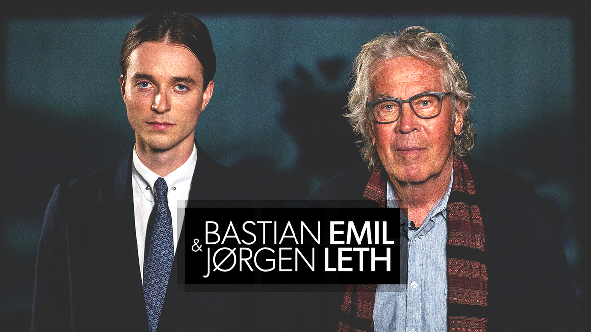 Du kan se samtalerne mellem Bastian Emil & Jørgen Leth på discovery+.