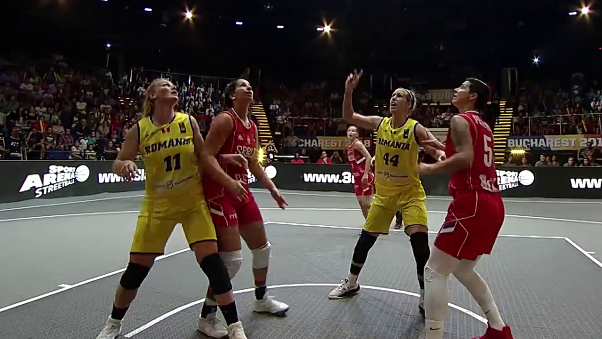 3x3 Basket-ballEurope Cup - Romania women team