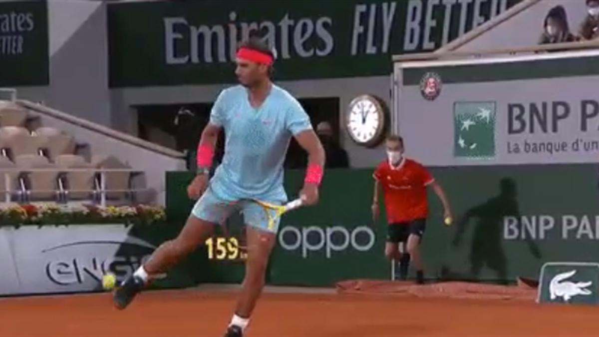 Roland Garros | Rafael Nadal, cu o nouă demonstrație de fotbal