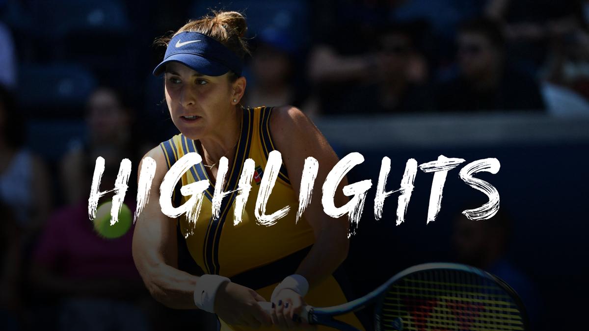 US Open   Hoogtepunten Belinda Bencic - Jessica Pegula