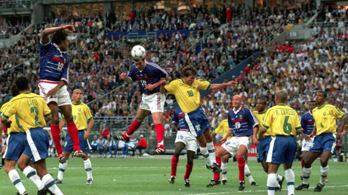 Zidane finale de la Coupe du monde 1998